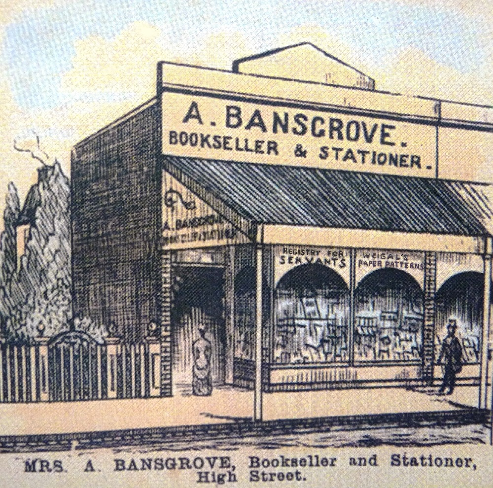 MRS BANSGROVE, AGENT IN MARYBOROUGH, VICTORIA