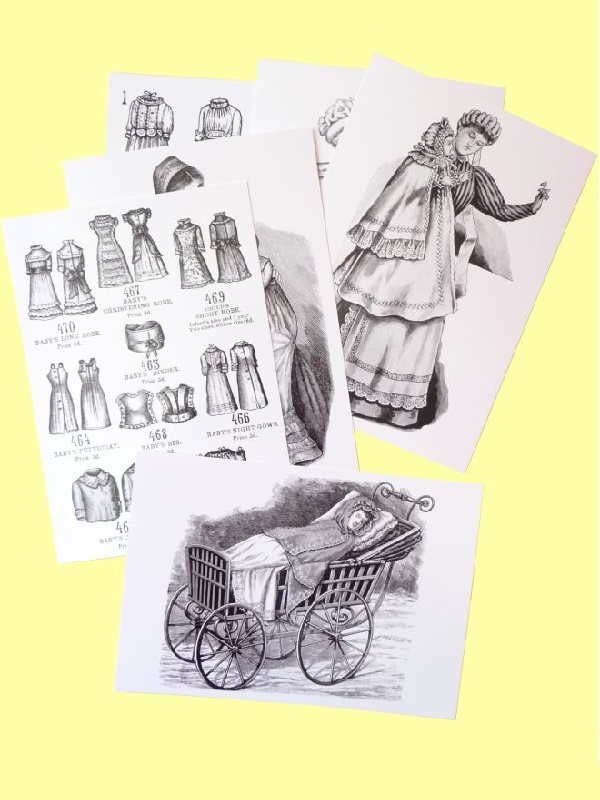 SEWING FOR BABY: A selection of Madame Weigel's baby patterns (1882-1895)